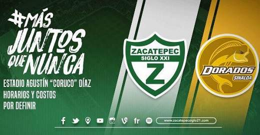 Zacatepec vs Dorados