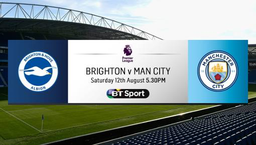 Brighton vs Manchester City