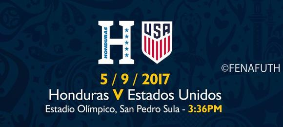 Honduras vs Estados Unidos