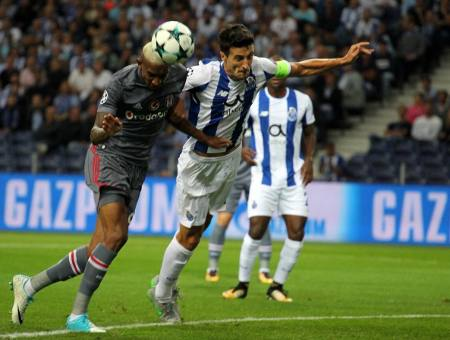 Porto cae 1-3 Besiktas en su debut de la Champions League 2017-2018