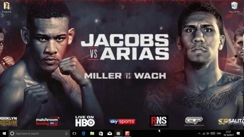 Daniel Jacobs vs Luis Arias