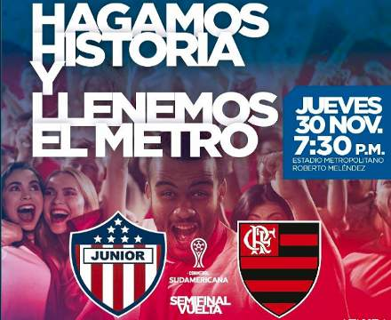 Junior vs Flamengo