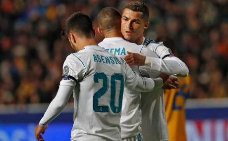 Real Madrid aplasta 6-0 al APOEL para calificar en la Champions League 2017-18