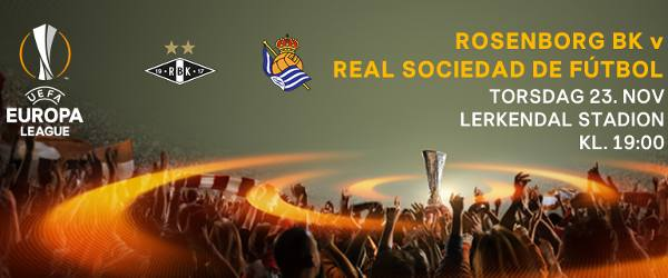 Rosenborg vs Real Sociedad