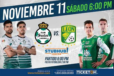 Santos vs León