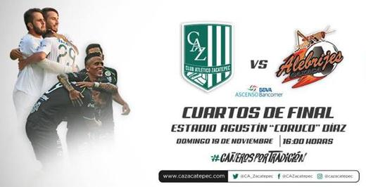 Zacatepec vs Alebrijes