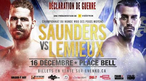 Billy Joe Saunders vs David Lemieux EN VIVO Hora, Canal, Dónde ver Pelea Box 2017