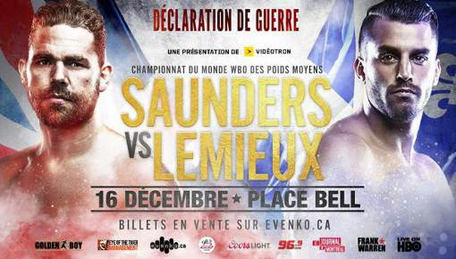 Billy Joe Saunders vs David Lemieux