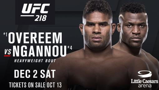 Alistair Overeem vs Francis Ngannou