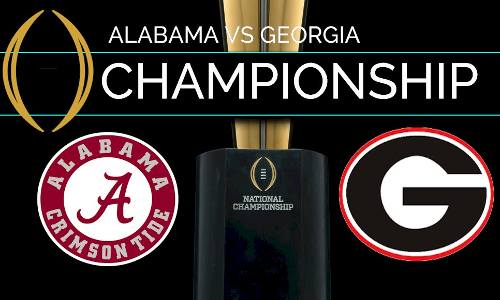 Alabama vs Georgia