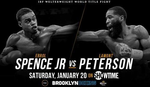 Errol Spence Jr. vs Lamont Peterson