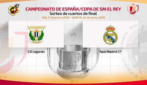 Leganés vs Real Madrid