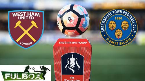 West Ham vs Shrewsbury EN VIVO Hora, Canal, Dónde ver Replay FA Cup 2017-18