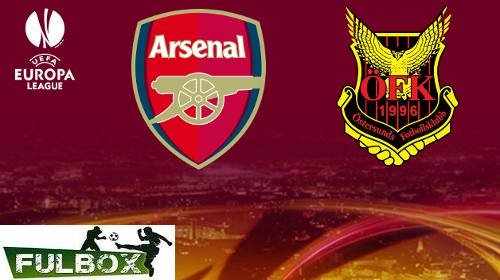 Arsenal vs Ostersunds