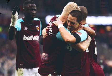 Gol del Chicharito en victoria del West Ham 2-0 Watford en Premier League 2017-18