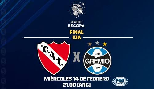 Independiente vs Gremio