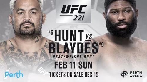 Mark Hunt vs Curtis Blaydes