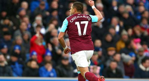 West Ham pierde 1-3 Brighton en la Prmeier League 2017-18