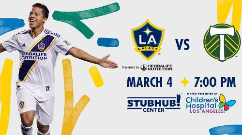 LA Galaxy vs Timbers