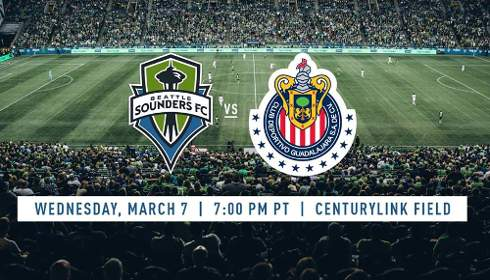 Seattle Sounders vs Chivas