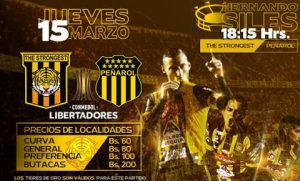The Strongest vs Peñarol