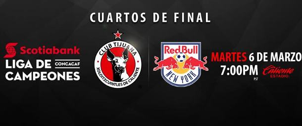 Tijuana vs NY Red Bulls
