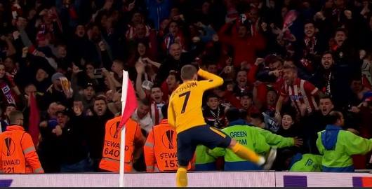 Atlético de Madrid salva empate 1-1 Arsenal