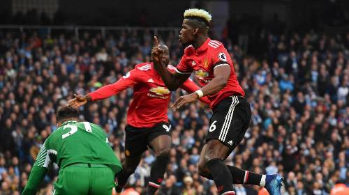 Manchester City 2-3 Manchester United