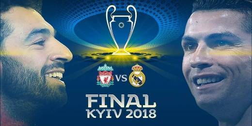 Real Madrid vs Liverpool Final Champions League 2017-18