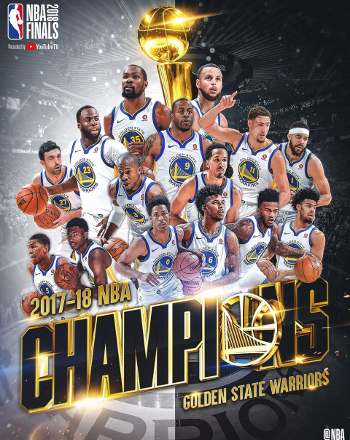 Golden State Warriors Campeones de la NBA 2018