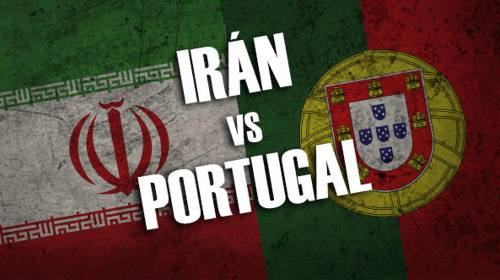 Irán vs Portugal