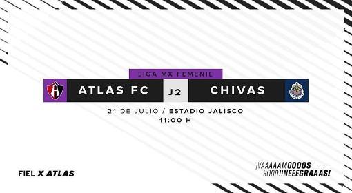 Atlas vs Chivas EN VIVO Hora, Canal, Dónde ver Jornada 2 Liga MX Femenil Apertura 2018