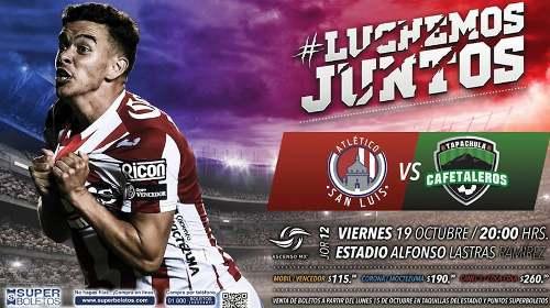 Atlético San Luis vs Cafetaleros EN VIVO Hora, Canal, Dónde ver Jornada 12 Ascenso MX Apertura 2018