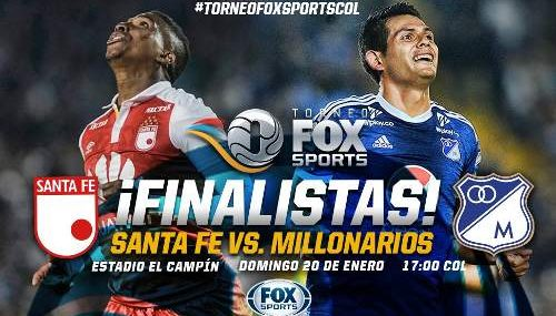 Santa Fe vs Millonarios EN VIVO Hora, Canal, Dónde ver Final Torneo Fox Sports 2019