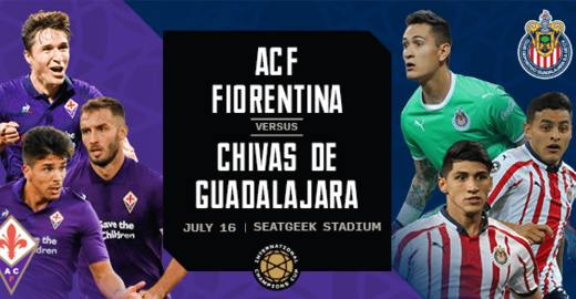 Resultado: Chivas vs Fiorentina [Vídeo Resumen Goles] International Champions Cup 2019