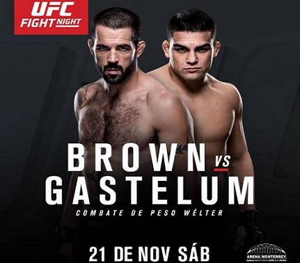 Kelvin Gastelum vs Matt Brown