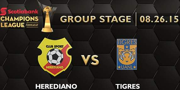 Herediano vs Tigres