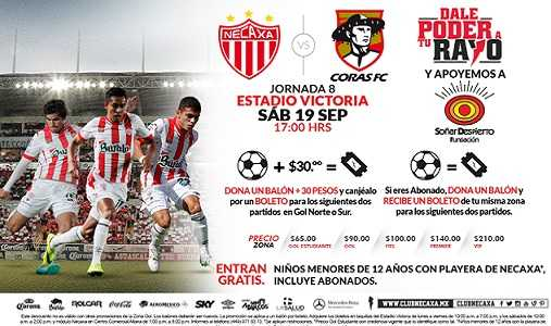 Necaxa vs Coras de Tepic