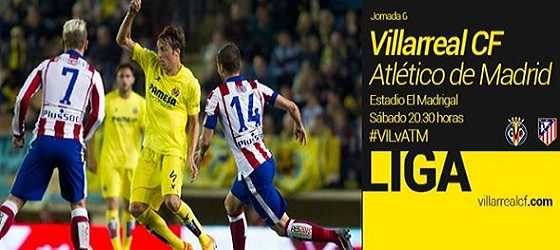 Villarreal vs Atlético de Madrid