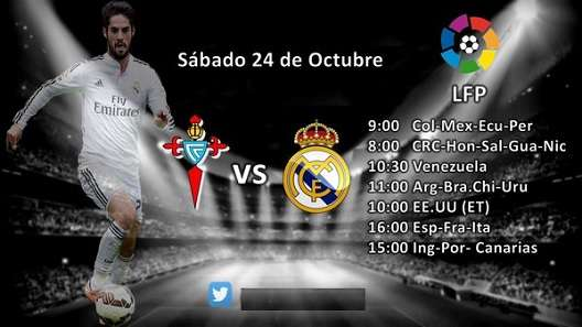 Celta vs Real Madrid