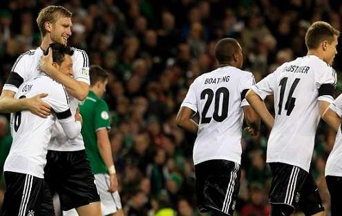 Irlanda vs Alemania