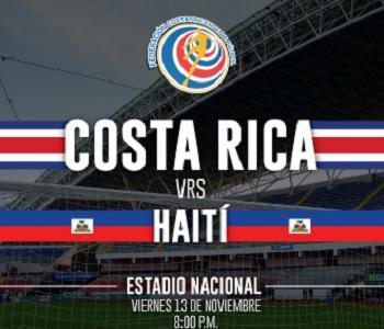 Costa Rica vs Haití