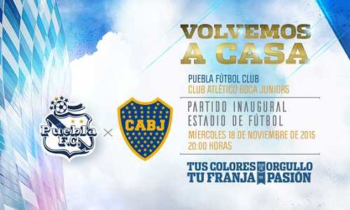 Puebla vs Boca Juniors