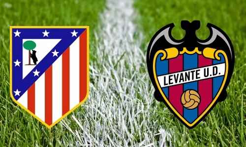 Atlético de Madrid vs Levante