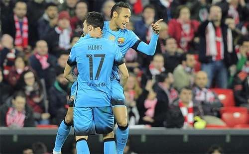 Athletic de Bilbao 0-2 Barcelona