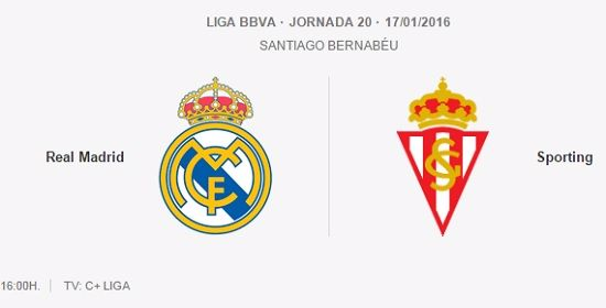 Real Madrid vs Sporting Gijón