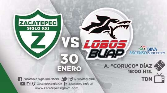 Zacatepec vs Lobos BUAP