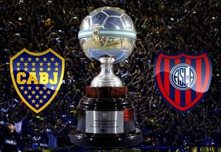 Boca Juniors vs San Lorenzo