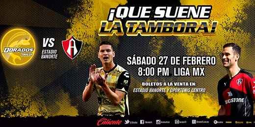Dorados vs Atlas