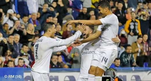 Levante 1-3 Real Madrid